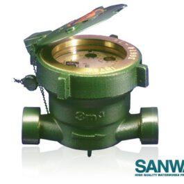 มิเตอร์น้ำ ซันวา SANWA ขนาด 1/2 นิ้ว