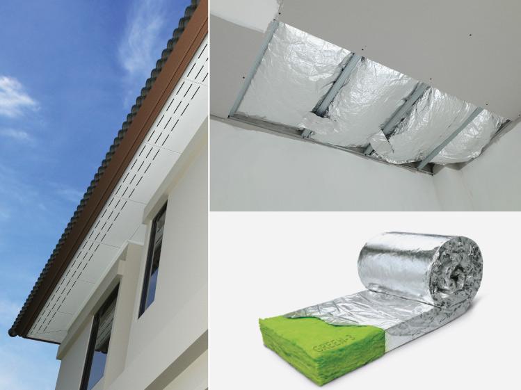 อยู่ทาวน์เฮาส์ ตึกแถว จะลดปัญหาบ้านร้อนได้อย่างไร 2