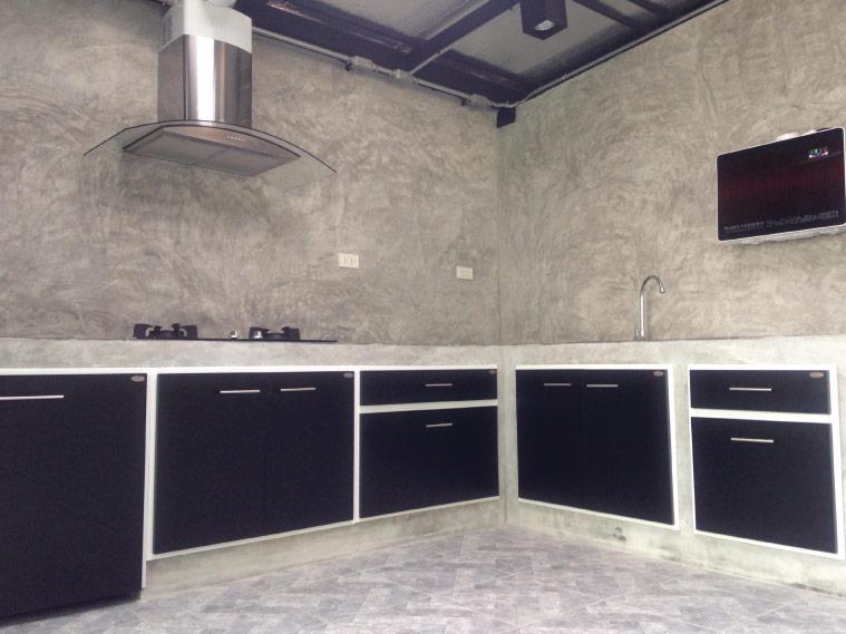 ต่อเติมครัวหลังบ้าน ทำครัวเปิดหรือครัวปิดดี 2