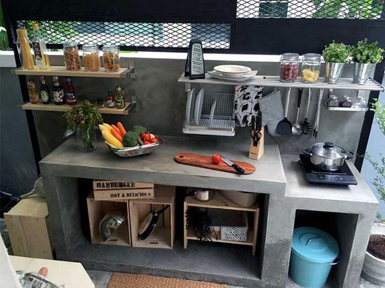 ต่อเติมครัวหลังบ้าน ทำครัวเปิดหรือครัวปิดดี 3