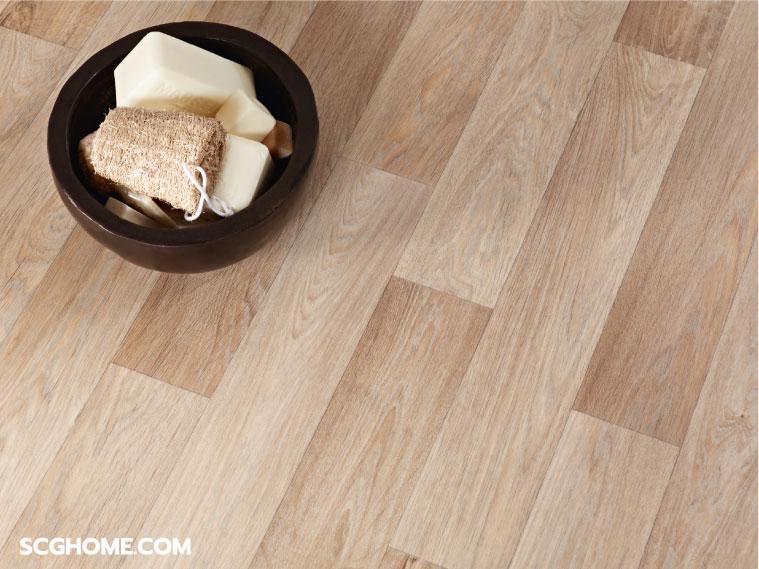 ภาพ: พื้นลดแรงกระแทก Peel & Place ผิวสัมผัสและลวดลายสวยงามเสมือนไม้