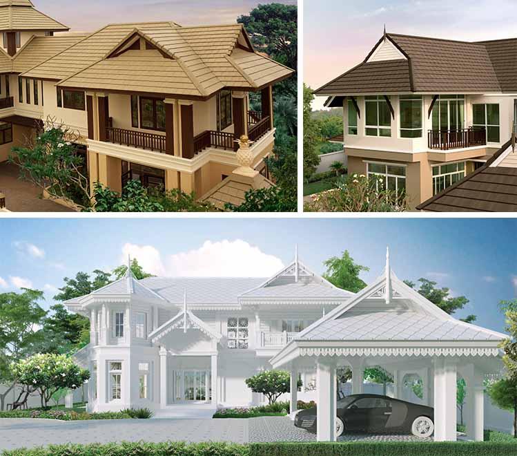 11 รูปทรงหลังคาสำหรับบ้านใหม่ 8