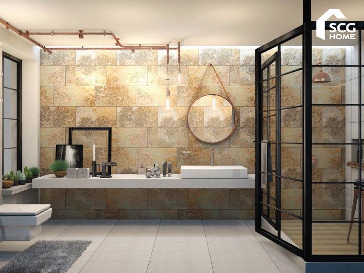 3 วิธี เลือกกระเบื้องเซรามิกสำหรับห้องน้ำ