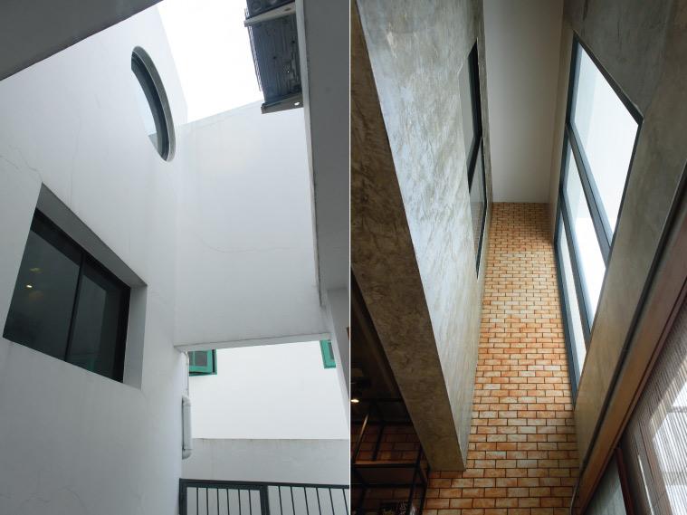 Pilaster House แต่งโฮมออฟฟิศสไตล์ลอฟต์ ในลุคโมเดิร์น 2