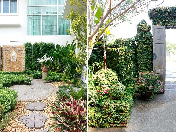 6 วิธีจัดสวนสวยทิศตะวันตก คลายร้อนให้บ้านเย็น 6