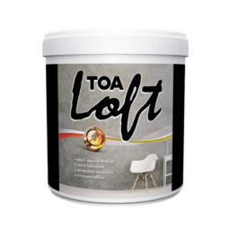 TOA ลอฟท์ ปูนฉาบขัดมันสำเร็จรูป ภายนอก LOFT2 สีเทา 12 กก.