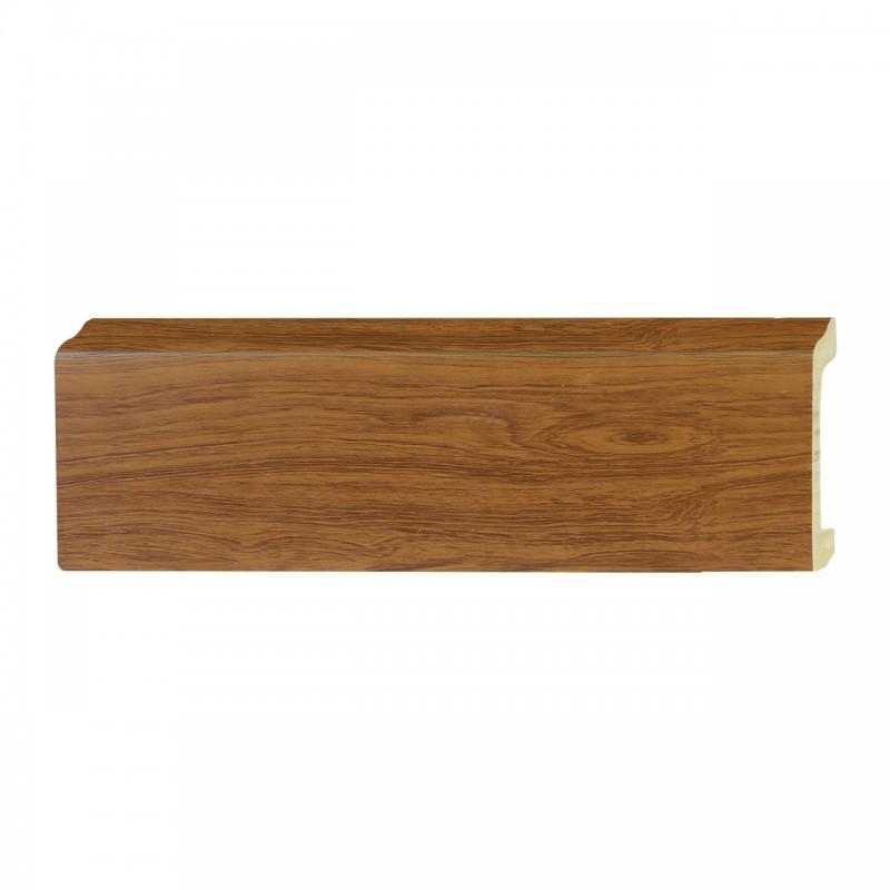 ไม้บัวอเนกประสงค์ YES MOULDING PL005-20 สีไม้สักทอง ยาว 3 เมตร