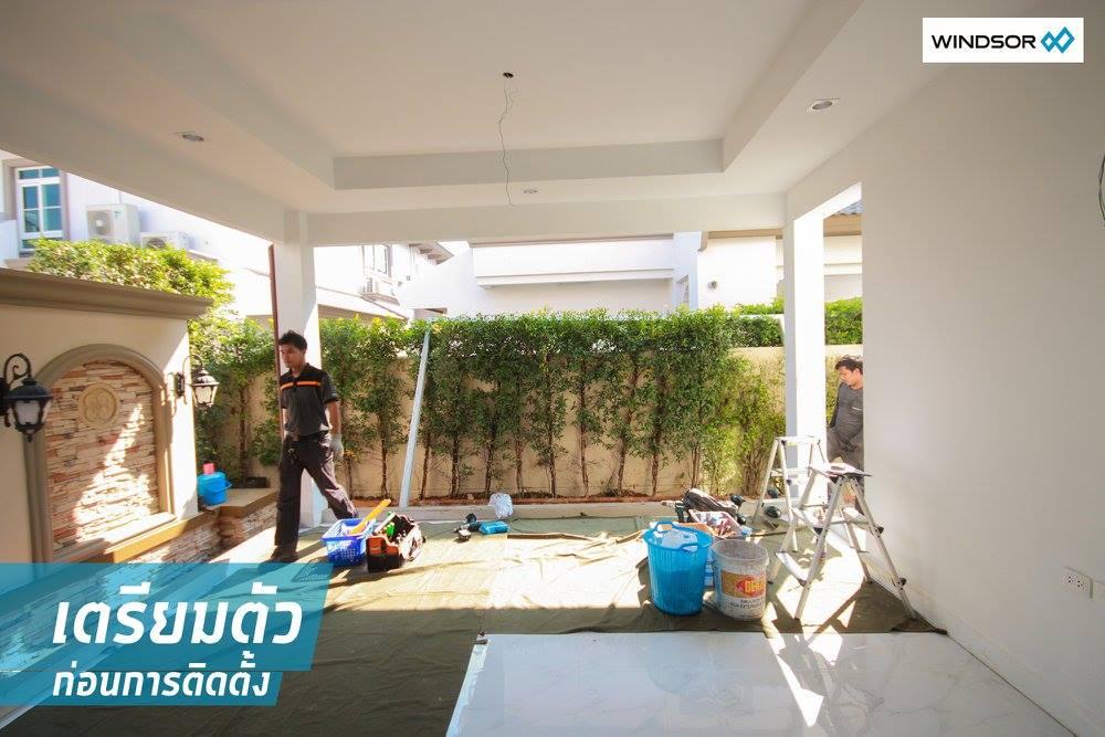 ต่อเติม มุม ข้างบ้าน ติดสวน เน้นความโปร่งและอากาศถ่ายเทที่ลงตัว 10