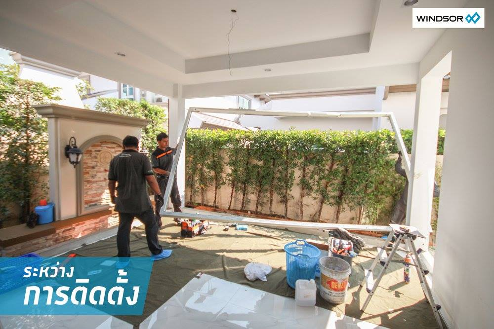 ต่อเติม มุม ข้างบ้าน ติดสวน เน้นความโปร่งและอากาศถ่ายเทที่ลงตัว 11