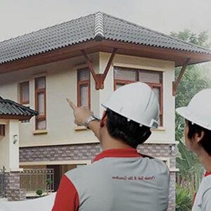 Read more about the article บริการติดตั้งเฉพาะโครงหลังคาหรือกระเบื้องหลังคาบ้านใหม่