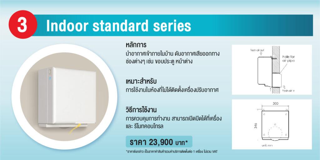 ระบบปรับคุณภาพอากาศภายในบ้าน SCG Active AIR Quality 7