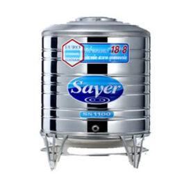 ถังเก็บน้ำสเตนเลสทรงเตี้ย SAVER รุ่น SS850 ขนาด 850 ลิตร