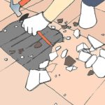 วิธีแก้ปัญหากระเบื้องห้องน้ำเปลี่ยนสี เนื่องจากความชื้น